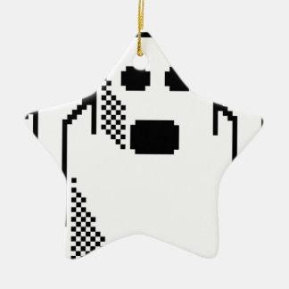 Ornamento De Cerâmica Fantasma assustador
