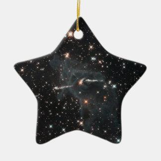 Ornamento De Cerâmica Fantasma delével na nebulosa de Carina