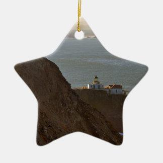 Ornamento De Cerâmica Farol de Bonita do ponto em San Francisco CA