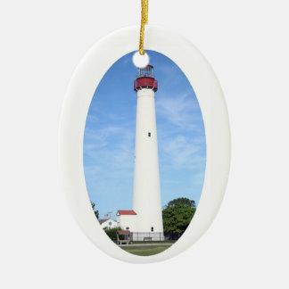 Ornamento De Cerâmica Farol de Cape May