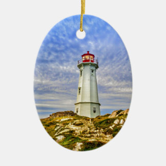 Ornamento De Cerâmica Farol de Louisbourg