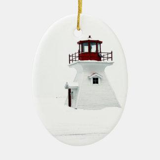 Ornamento De Cerâmica Farol na aterragem de Richards