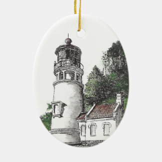 Ornamento De Cerâmica Farol principal de Heceta