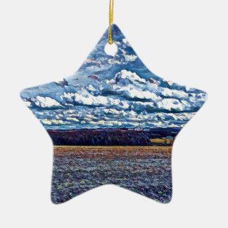 Ornamento De Cerâmica Fazenda dos archie