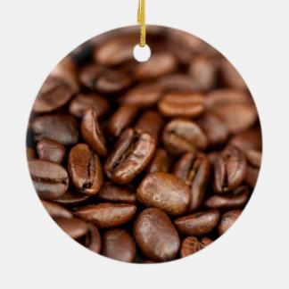 Ornamento De Cerâmica Feijões de café Roasted