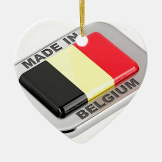 Ornamento De Cerâmica Feito em Bélgica