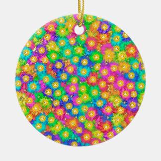Ornamento De Cerâmica Felicidade