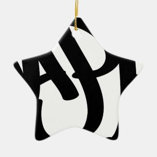 Ornamento De Cerâmica feliz
