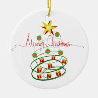 Ornamento De Cerâmica Feliz Natal