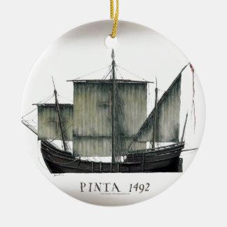 Ornamento De Cerâmica Fernandes 1492 tony de Pinta