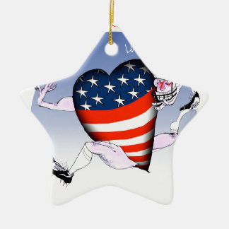 Ornamento De Cerâmica Fernandes tony altos e orgulhosos do Washington