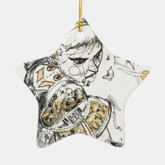 Ornamento De Cerâmica Figura brinquedo