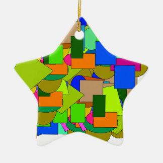 Ornamento De Cerâmica figuras geométricas