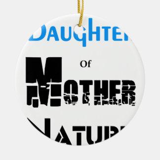 Ornamento De Cerâmica Filha da mãe Natureza