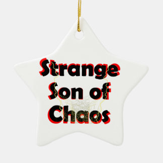 Ornamento De Cerâmica Filho estranho do caos