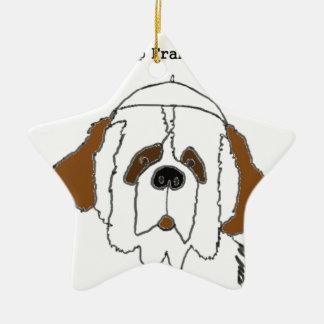 Ornamento De Cerâmica Filhote de cachorro Francis para artigos pequenos