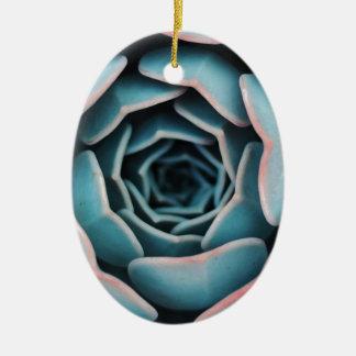 Ornamento De Cerâmica Fim-Acima macro da flor que surpreende o impressão