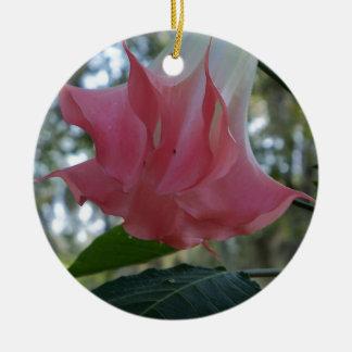 Ornamento De Cerâmica fim do rosa da trombeta dos anjos 205a
