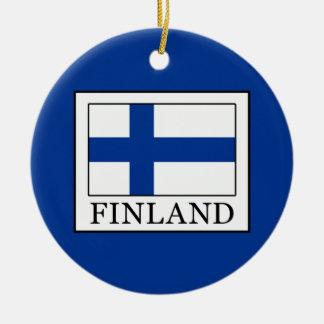 Ornamento De Cerâmica Finlandia