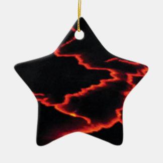 Ornamento De Cerâmica fios da lava