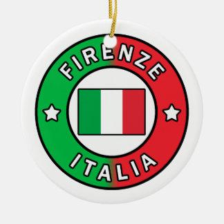 Ornamento De Cerâmica Firenze Italia
