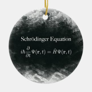 Ornamento De Cerâmica Física da matemática & de quantum da equação de