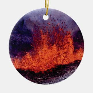 Ornamento De Cerâmica fissura da rachadura da lava