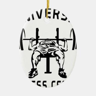 Ornamento De Cerâmica Fitness center