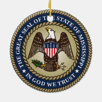 Ornamento De Cerâmica Fla do símbolo da república de América do selo do
