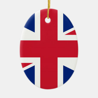 Ornamento De Cerâmica Flag of United Kingdom.