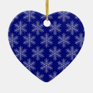 Ornamento De Cerâmica Flocos de neve