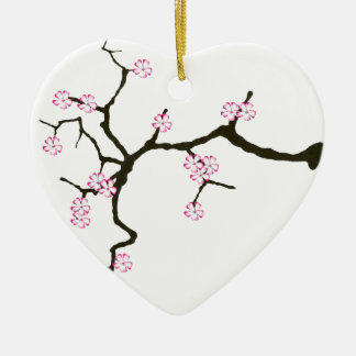Ornamento De Cerâmica Flor 2 de Tony Fernandes Sakura
