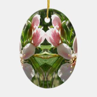 Ornamento De Cerâmica Flor -2a do primavera