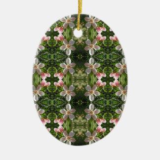 Ornamento De Cerâmica Flor 7 do primavera