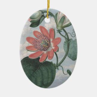Ornamento De Cerâmica Flor da paixão