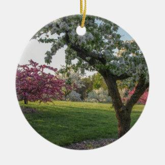 Ornamento De Cerâmica Flor das árvores na primavera