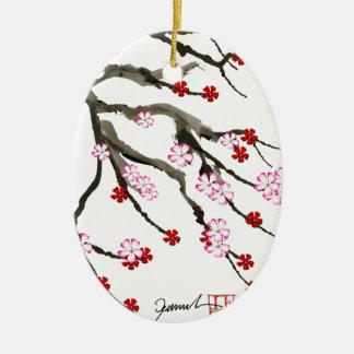 Ornamento De Cerâmica flor de cerejeira 10 Tony Fernandes