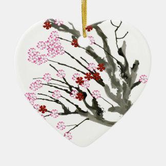 Ornamento De Cerâmica flor de cerejeira 11 Tony Fernandes