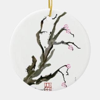Ornamento De Cerâmica Flor de cerejeira 15 Tony Fernandes