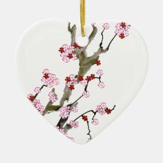 Ornamento De Cerâmica Flor de cerejeira 16 Tony Fernandes