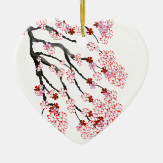 Ornamento De Cerâmica Flor de cerejeira 18 Tony Fernandes