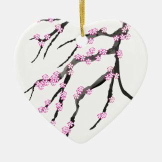 Ornamento De Cerâmica Flor de cerejeira 20 de Sakura, Tony Fernandes