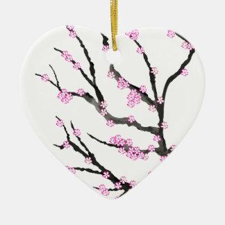 Ornamento De Cerâmica Flor de cerejeira 21 de Sakura, Tony Fernandes