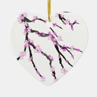 Ornamento De Cerâmica Flor de cerejeira 22 de Sakura, Tony Fernandes