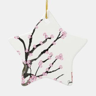 Ornamento De Cerâmica Flor de cerejeira 23 de Sakura, Tony Fernandes