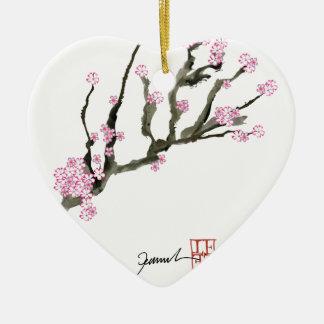 Ornamento De Cerâmica Flor de cerejeira 8 de Tony Fernandes