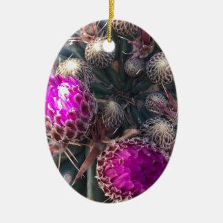 Ornamento De Cerâmica Flor do cacto