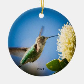 Ornamento De Cerâmica Flor do colibri de UCSC