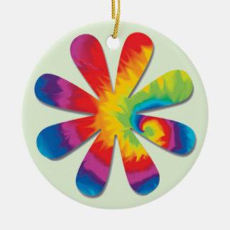 Ornamento De Cerâmica Flor psicadélico