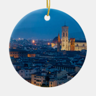 Ornamento De Cerâmica Florença Italia